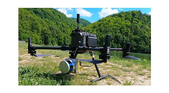 Lidaretto fully integrated with DJI M300
